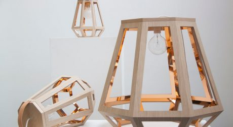 Lights Inspired by Wood Houses and Mining Lamps