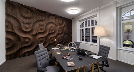 Handcrafted, 3D Wooden Wall Coverings