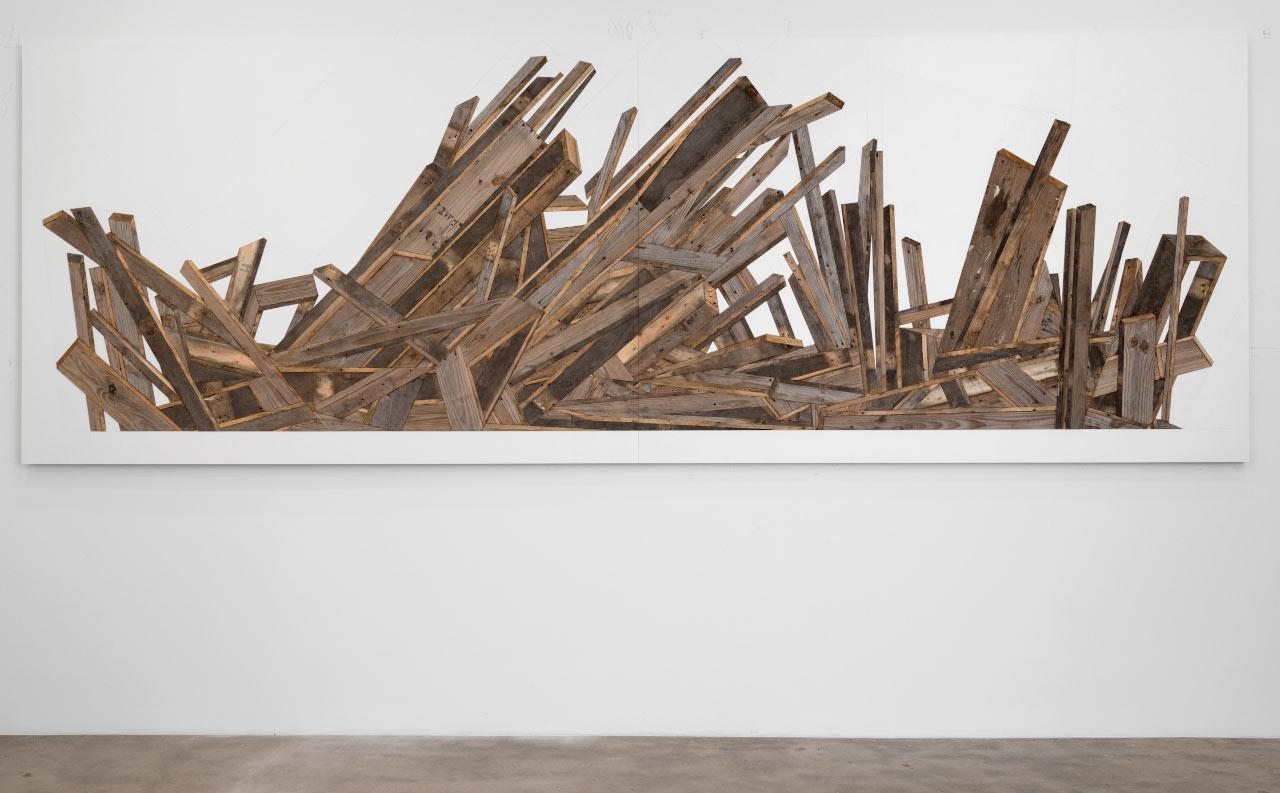 Flattening Reality: The Art of Michael Zelehoski