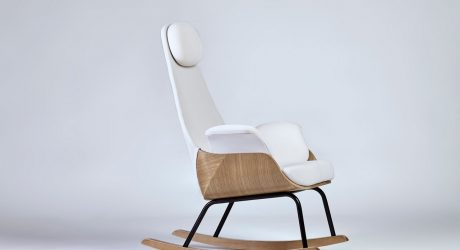 A Rocking Chair Reinvented for New Moms