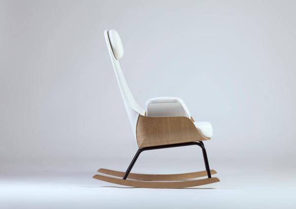 A rocking chair reinvented for new moms d coration de la - Rocking chair de jardin ...