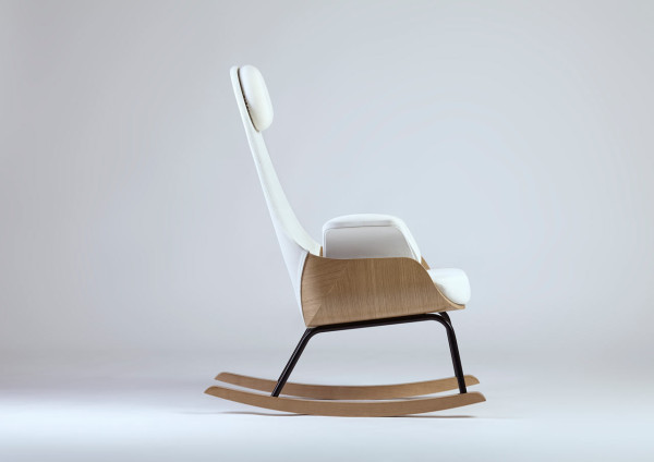 Nana-Rocking-Chair-Alegre-Design-3  A Rocking Chair Reinvented for New Moms Nana Rocking Chair Alegre Design 3