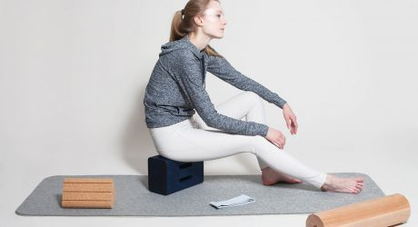 A Family of Yoga Objects Made From Natural Materials