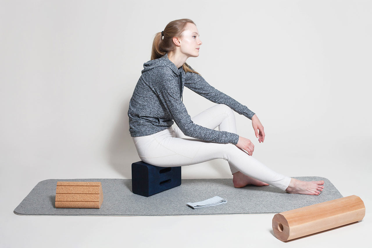 Yoga Objects Made From Natural Materials Design Milk