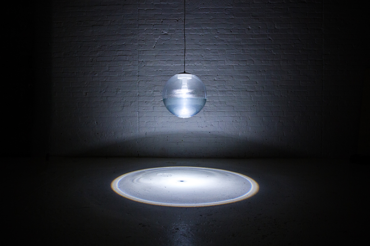 Rain Lamp by Richard Clarkson Studio