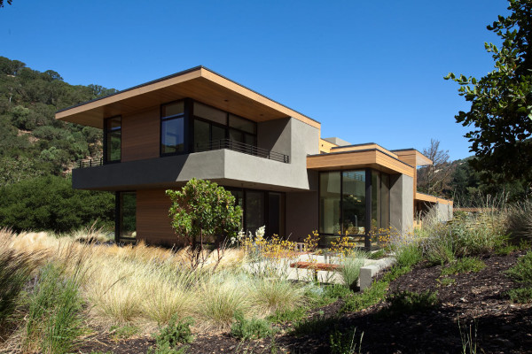 A Modern Home in Rural Sunol, California