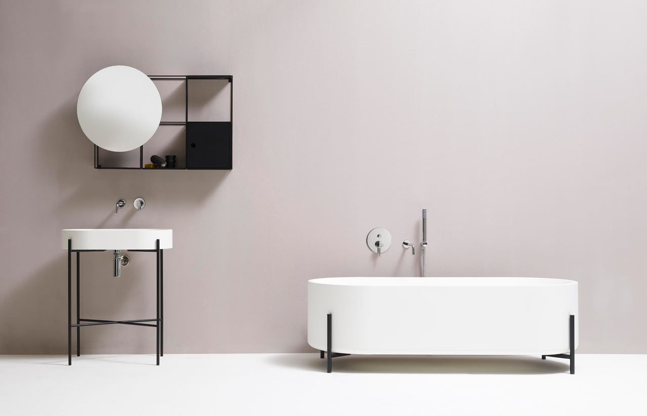 Indian Minimalism The New Decor Norm: Minimalist Black And White Bathroom Fixtures