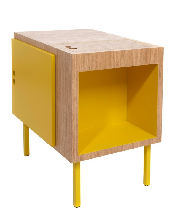 Lovely The Tokyo Table goes a different route and is inspired by the minimal lines of traditional Japanese tatami mats The colorful table has three storage spots