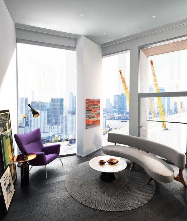 Copper Terrace Apartments: Tom Dixon Research Lab Apartment