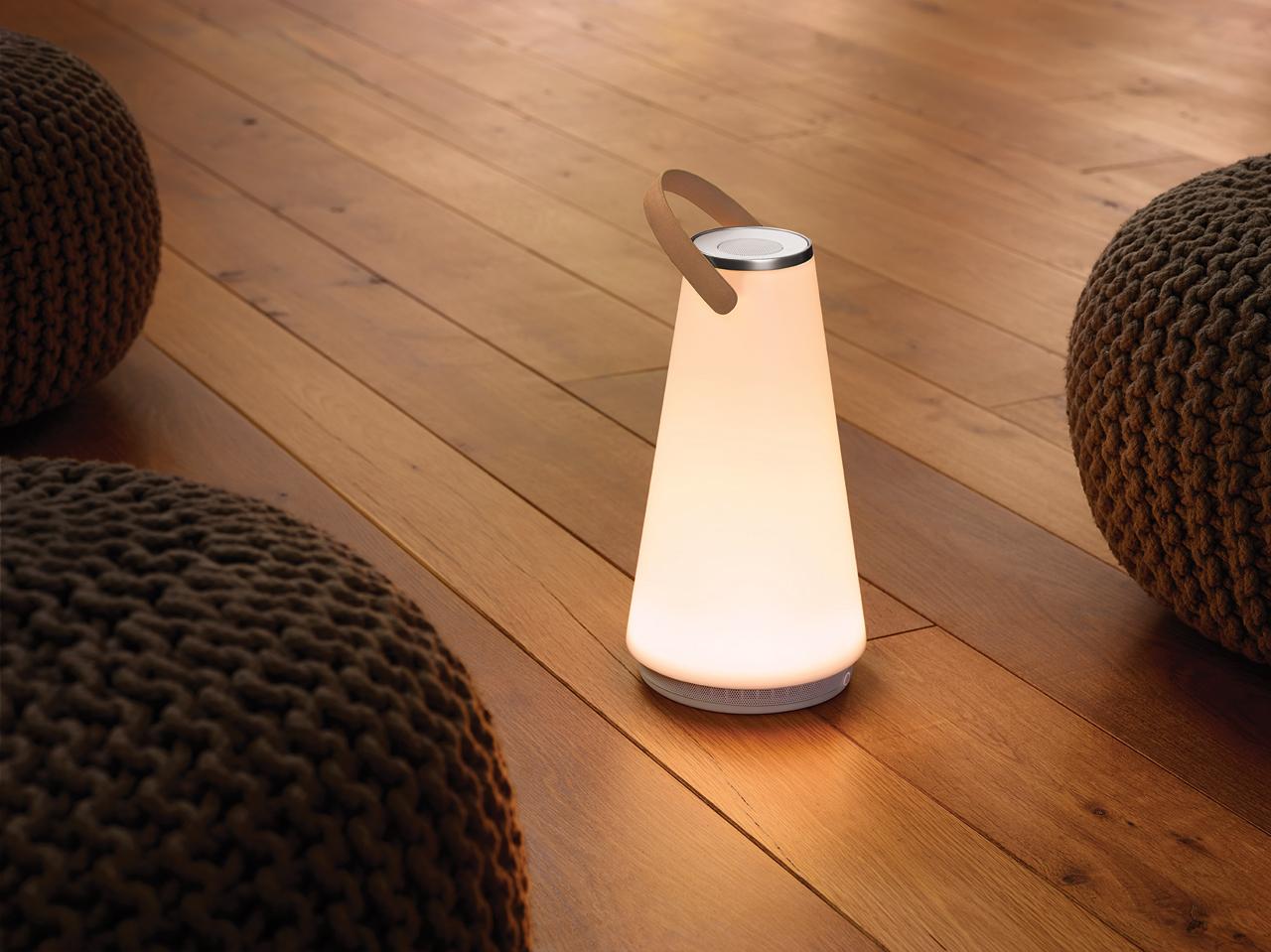 UMA Sound Lantern - Portable Light + Speaker - Design Milk