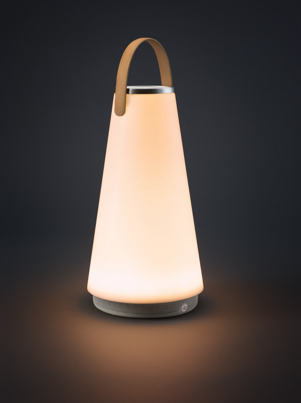 UMA Sound Lantern - Portable Light + Speaker - Design Milk