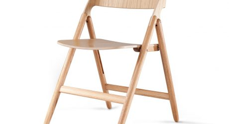 The Folding Chair Gets a Modern Update