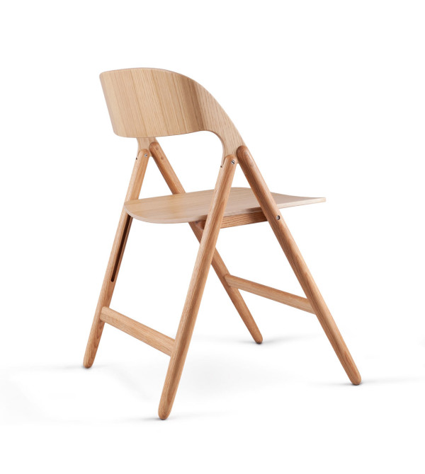 Wooden Folding Chair David Irwin 2