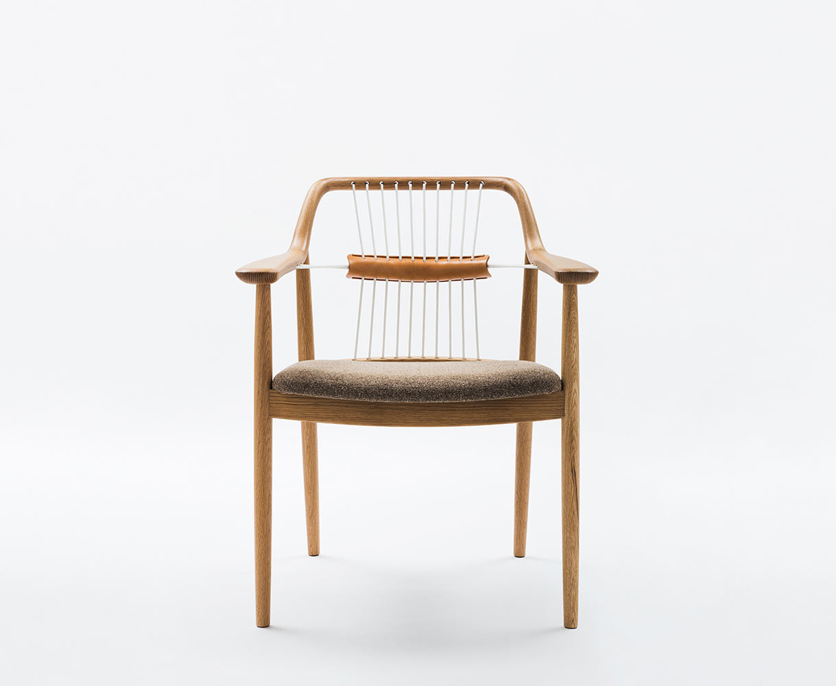 """backReturn to """"A Modern Handcrafted Chair with Stunning Details"""""""