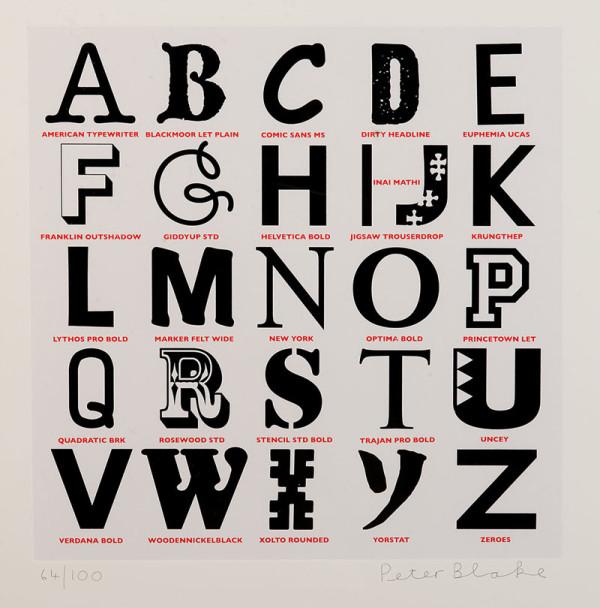 alphabet-bw-peter-blake