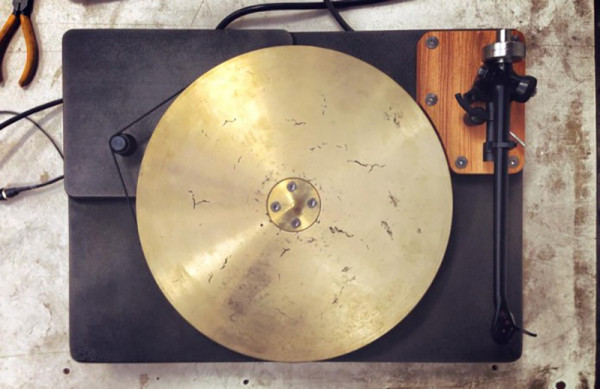 We're also eagerly awaiting Fern & Roby's upcoming cast-iron and salvaged heart pine turntable topped with a luxurious bronze platter and Rega tone arm, an ideal accompaniment to a pair of Cube Speakers.