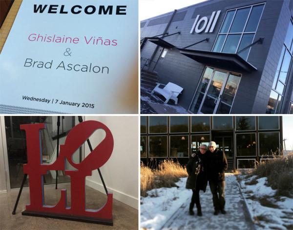 Ghislaine and Brad visit Loll in Minnesota