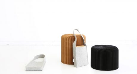 molo Launches New Felt Tote + Softseating