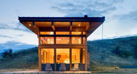 Nahahum Cabin by Balance Associates Architects