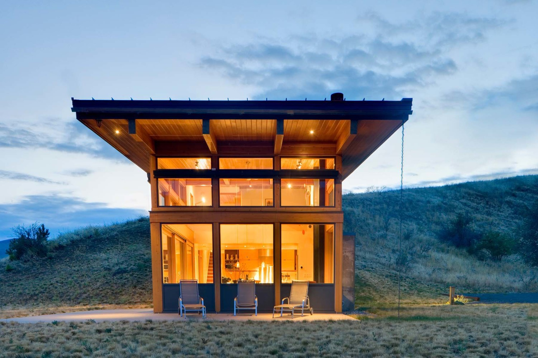 Nahahum Cabin by Balance Associates Architects
