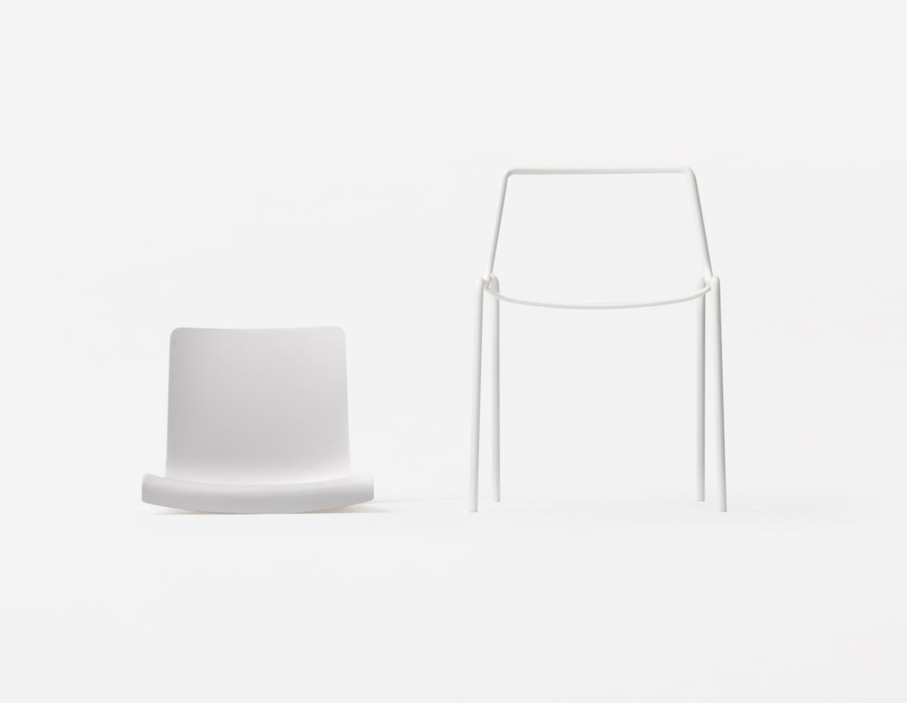 Offset Chair by Nendo for Kokuyo