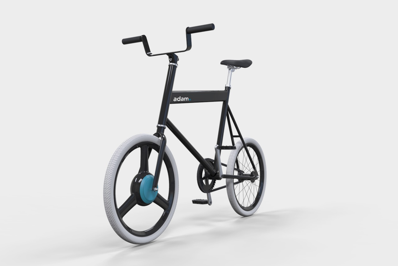 Concept E-Bike Aimed at Improving the Lives of Students