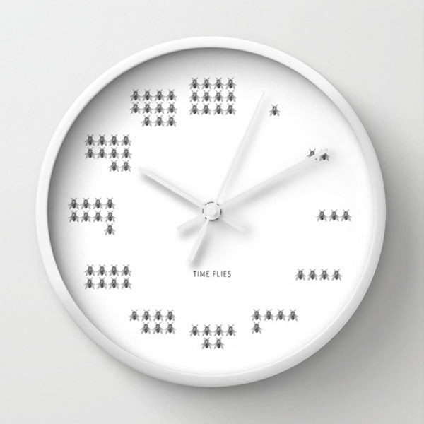 time-flies-wall-clock