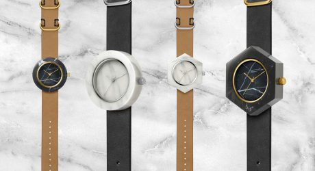 These Watches Are Like Marble Sculptures for Your Wrist