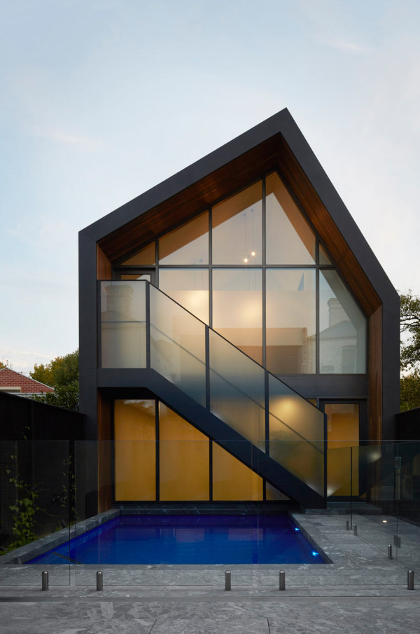 Modern victorian gets addition and renovation design milk Modern victorian architecture
