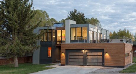 A Modern, Prefab Home in Jackson Hole