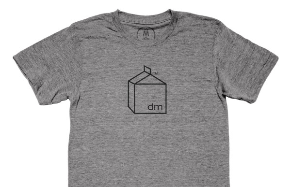 Design milk t shirts available for a limited time at cotton bureau
