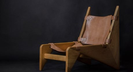 The Making of a Scandinavian-Inspired Wood and Leather Chair