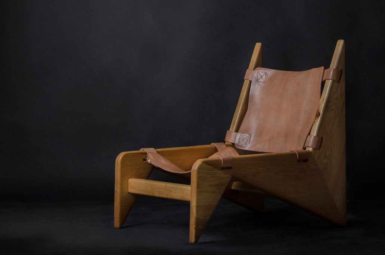 Making A Scandinavian Wood Leather Chair Design Milk