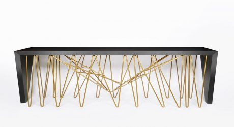Chaos Console: A Collaboration between Dekton by Cosentino & Daniel Germani
