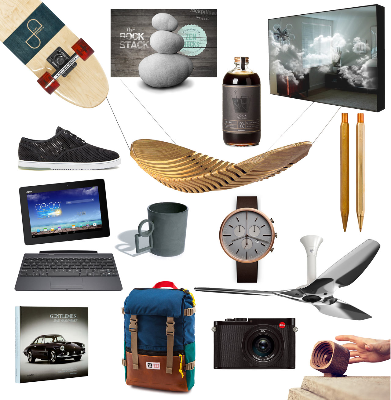 Tech Gifts For Dad 15 Gift Ideas For Designy Dudes  Design Milk