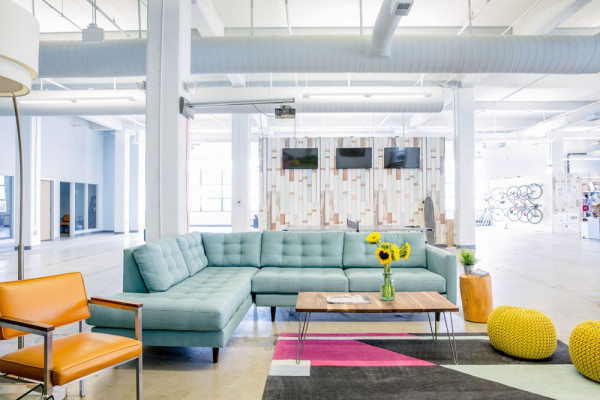 Image courtesy of Homepolish -- Euclid offices, designed by Felice Press; Photo by Aubrie Pick