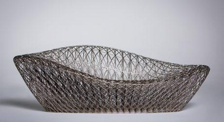 A Complex, 3D Printed Sofa by Janne Kyttanen