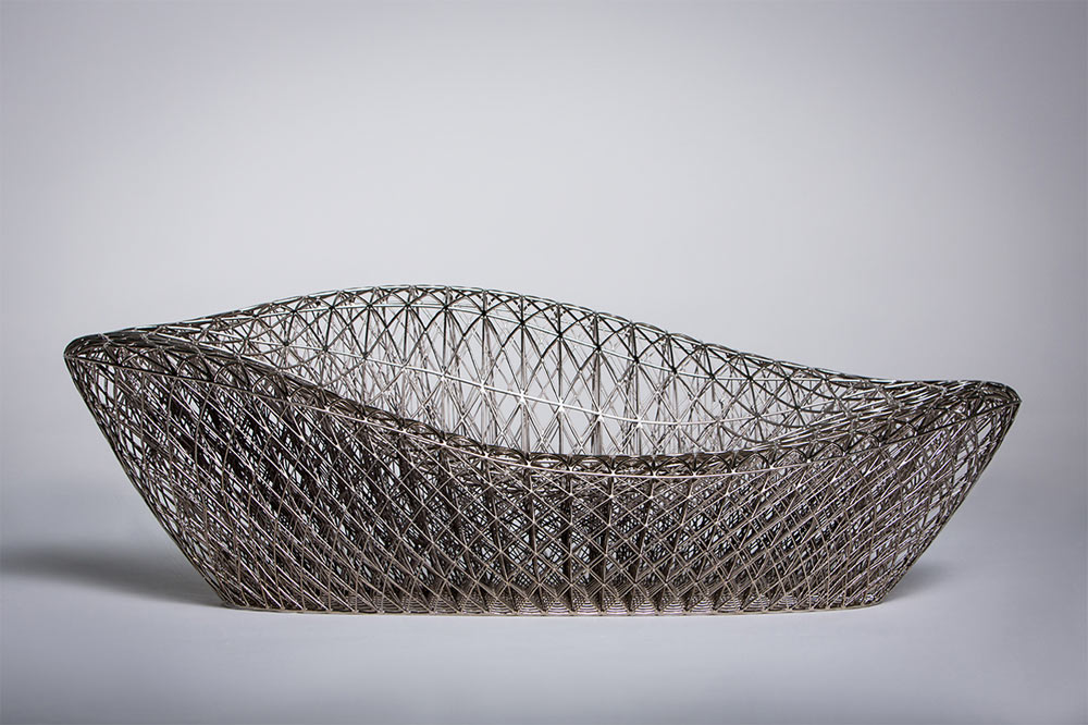 A Complex, 3D Printed Sofa by Janne Kyttanen