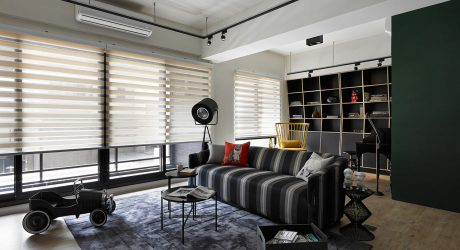 Apartment with Flexible Spaces for a Newlywed Couple