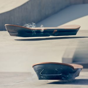 The Super-Conductive Lexus Slide Hoverboard
