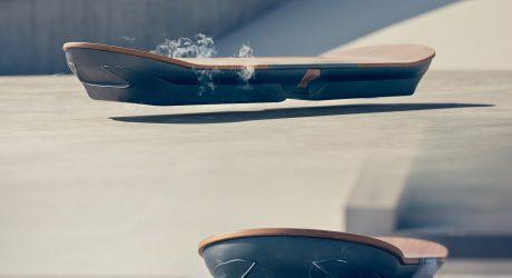 The Super-Conductive Lexus Slide Hoverboard