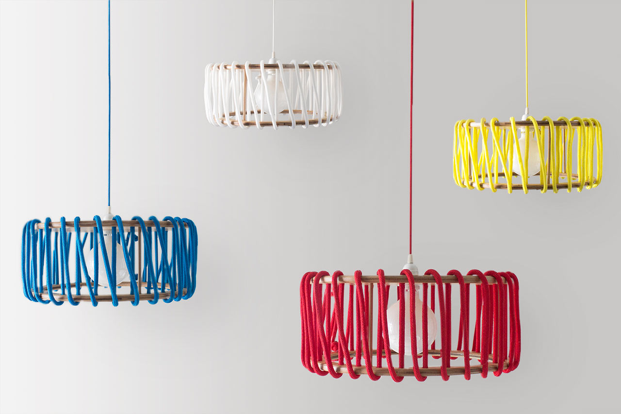A Modern Lamp Inspired by Sweet Treats