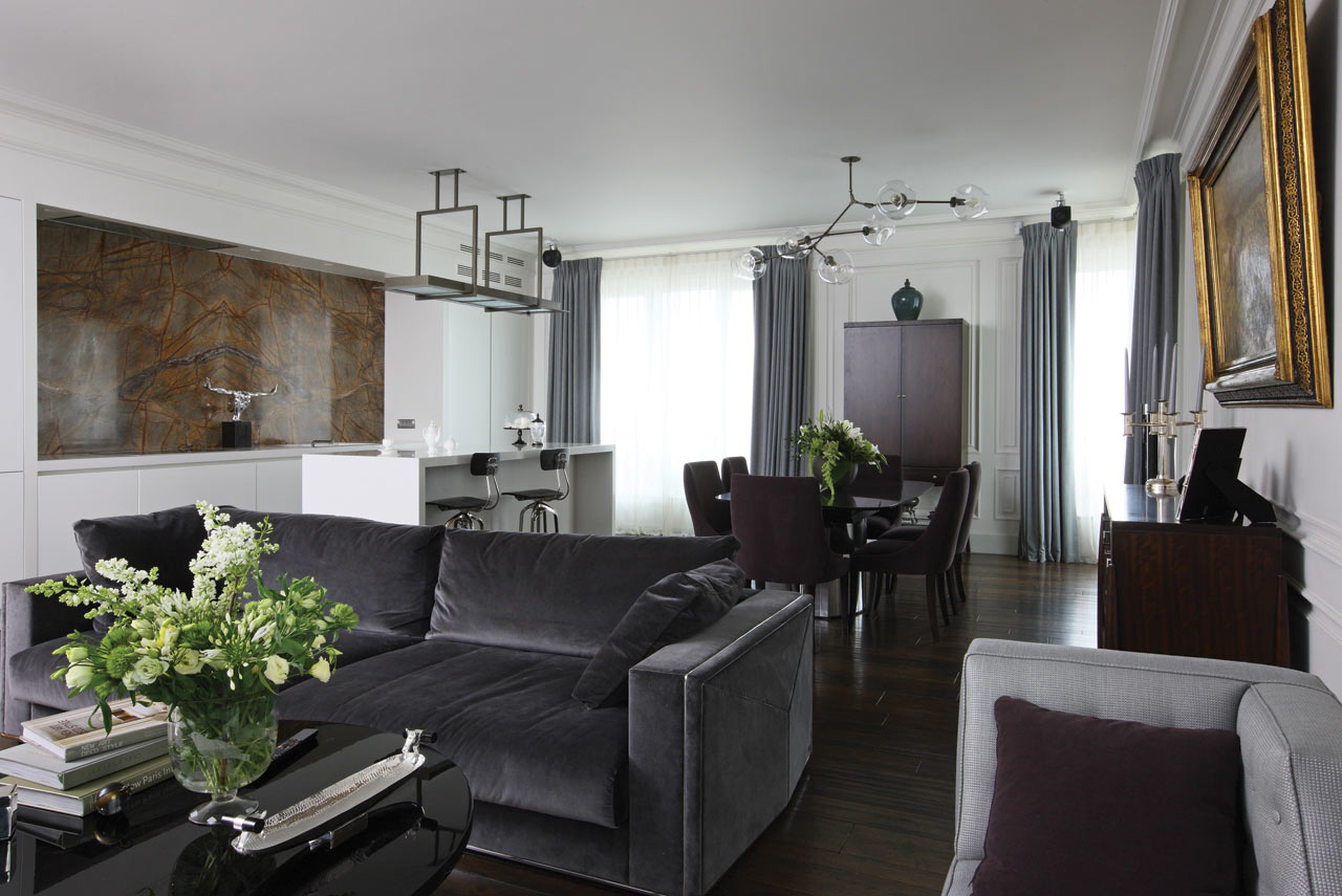An Apartment in Moscow by Oleg Klodt