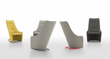 NAGI: A Curvy Chair Designed for Reading or Working
