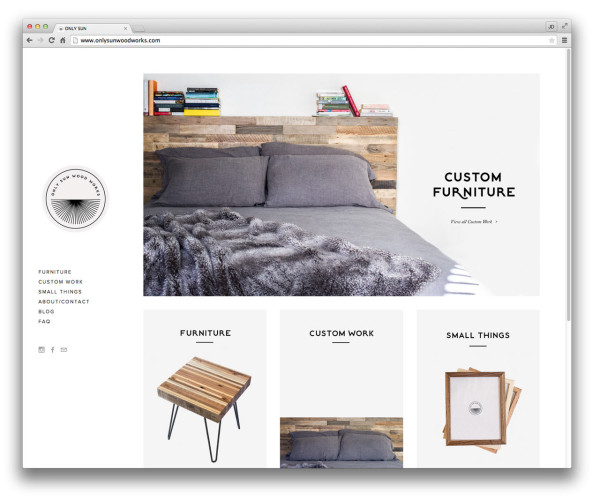 Furniture Web Sites: 10 Well-Designed Squarespace Commerce Sites
