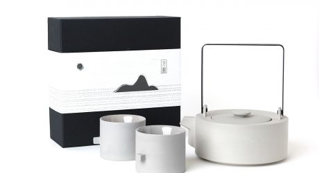 Round Square Teaware Set by Chuntso Liu