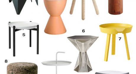 Roundup: 10 Modern Side Tables