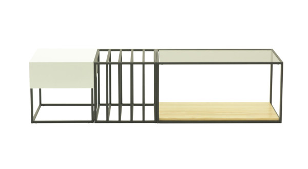 Sauder-Boutique-3-Space-Frame-Table-Set