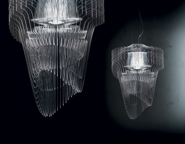 A Dynamic Transparent Light By Zaha Hadid Design Milk