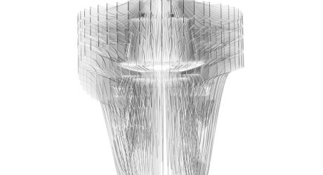 A Dynamic, Transparent Light by Zaha Hadid for Slamp
